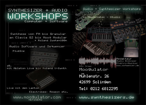 synthesizer workshop köln